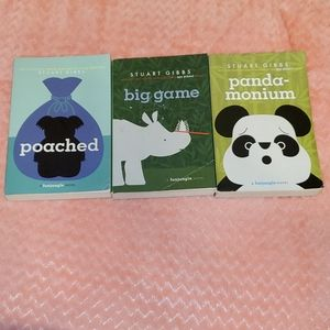 Book #2, #3, and #4 of the funjungle series